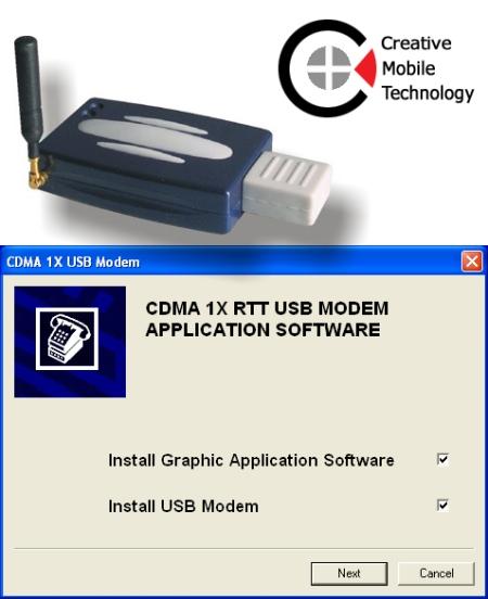 CMOtech CDMA 1X USB Modem